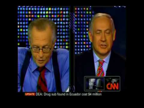 Part 1 of 5: CNN Larry King Interviews Benjamin Netanyahu July 7, 2010