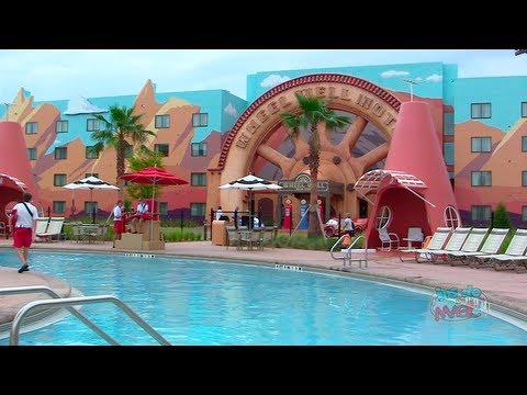 Cars Wing And Pool At Disney S Art Of Animation Resort In