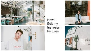 HOW I EDIT MY INSTAGRAM PICTURES || ANALOG FILM STYLE
