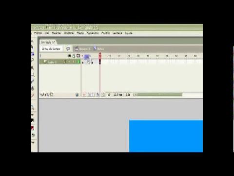 Tutorial Flash 8 N10: Clip de Película y Animación básica (interpolación de movimiento)