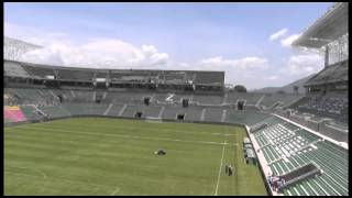 "Nuevo estadio de fútbol Agustín ""Coruco"" Díaz, detonante económico para Zacatepec."