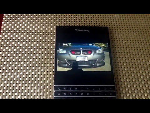 Blackberry Passport review (browser, video, music, speakers) part 2