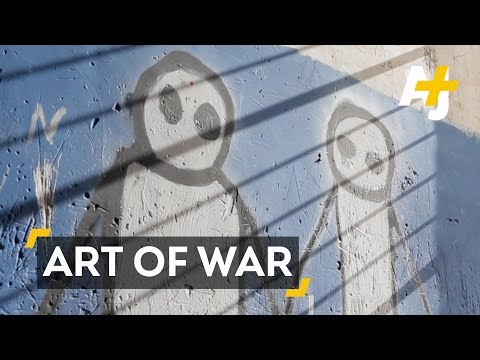 The Art Of War: Child Refugees Redesign Their Prison Home In Iraq