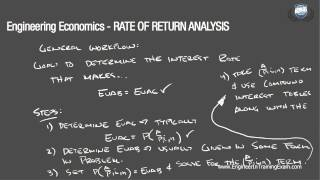 Download Lagu Rate of Return Analysis - Fundamentals of Engineering Economics Gratis STAFABAND