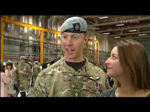 Apache Crews Receive Afghanistan Medals 09.05.13