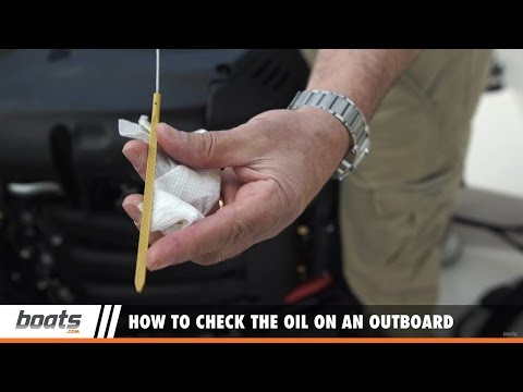 Outboard Expert: How to Check the Oil on an Outboard