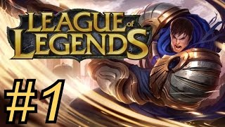 "Let's Play ""League of Legends"" Episode 1: Spinning To VICTORY!!!"