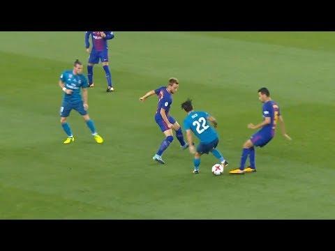 Новые финты в футболе 2018