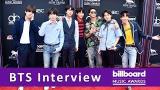 BTS TALKS MUSIC & NEW SONG | BILLBOARD MUSIC AWARDS