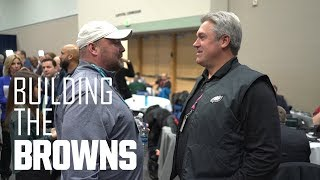 Freddie Kitchens Mic'd Up at the NFL Scouting Combine | Building The Browns