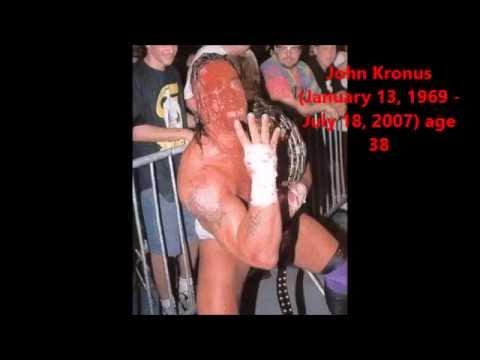Wrestling Deaths (2005-2014) WWE and TNA Superstars