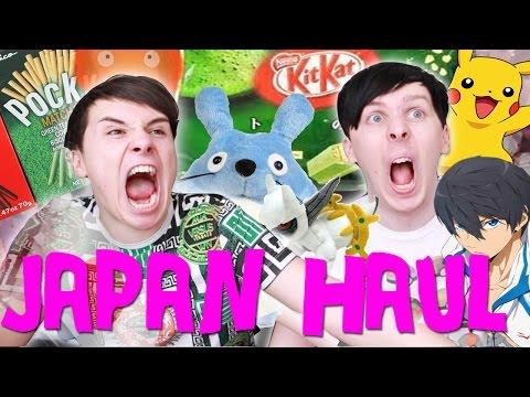 DAN AND PHIL JAPAN HAUL