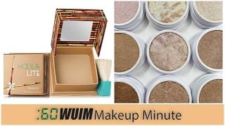Makeup Minute | BENEFIT HOOLA LITE IS HERE! + COLOUR POP HIGHLIGHTING TRIOS!