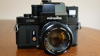 Minolta XM (XK, X-1) 35mm Film Camera Overview