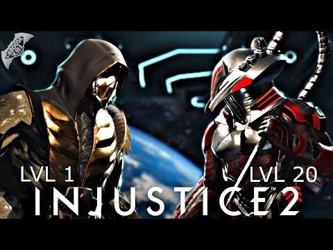 Injustice 2 Online - LEVEL 1 MAKES LEVEL 20 RAGE QUIT!