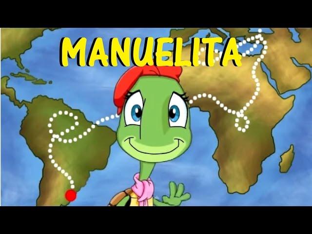 LA TORTUGA MANUELITA - con Letra