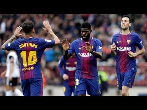 Barcelona vs Valencia [2-1], La Liga, 2018 - Match Review thumbnail