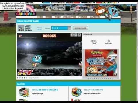 Cartoonnetwork Gaming Ep 2 Amazing World of Gumball