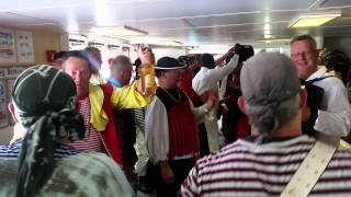 HET DOEKEGAT PIRATENKOOR - BORKUM 2015 - VIDEO 1/3