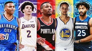 RANKING THE BEST POINT GUARD FROM EACH NBA TEAM