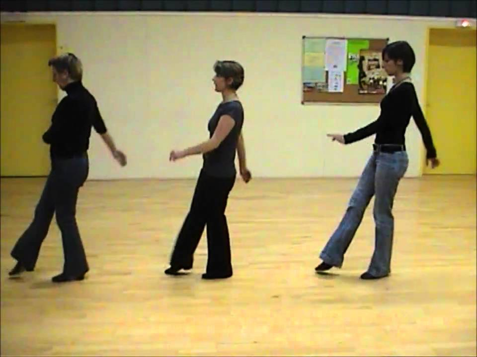 Baby Charleston Line Dance Magali Chabret Youtube