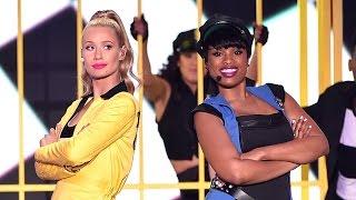 "Jennifer Hudson Video - Iggy Azalea & Jennifer Hudson SLAY ""Trouble"" at Kids Choice Awards 2015"