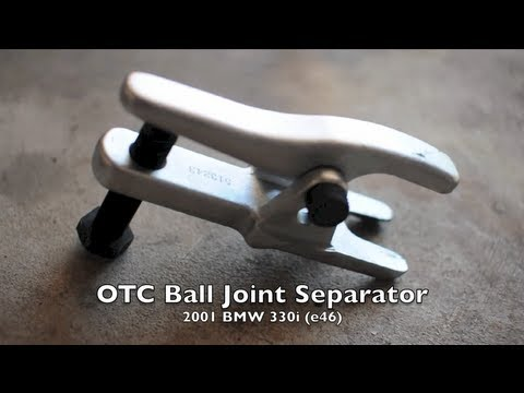 OTC Ball Joint Separator (e46 BMW Control Arm Removal - DIY)