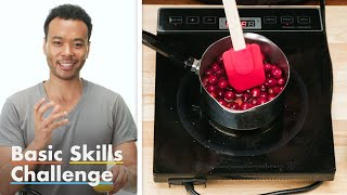 50 People Try To Make Cranberry Sauce | Epicurious