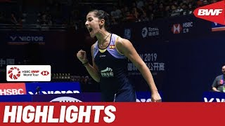 VICTOR China Open 2019 | Semifinals WS Highlights | BWF 2019
