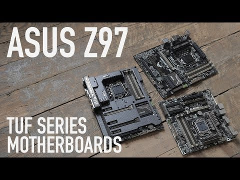 ASUS Z97 TUF Series: Sabertooth Mark 1. Mark 2. & Gryphon Motherboards