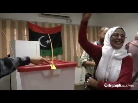 Libya: voters cast their ballots in first election in 60 years