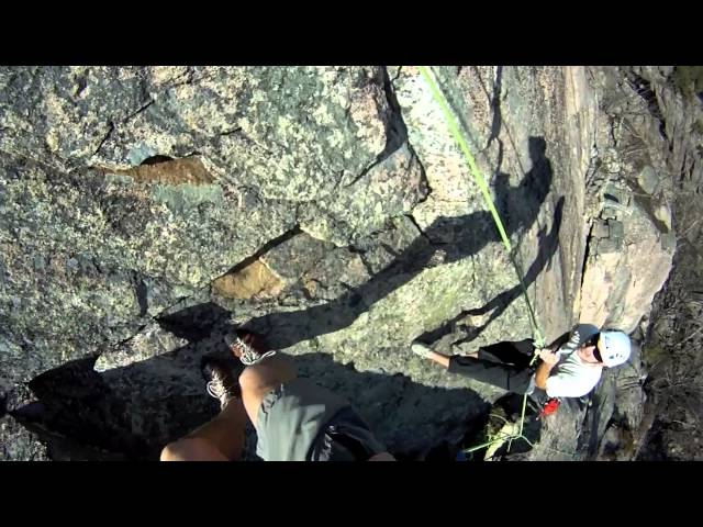 Rock Climbing and SUPing in Acadia