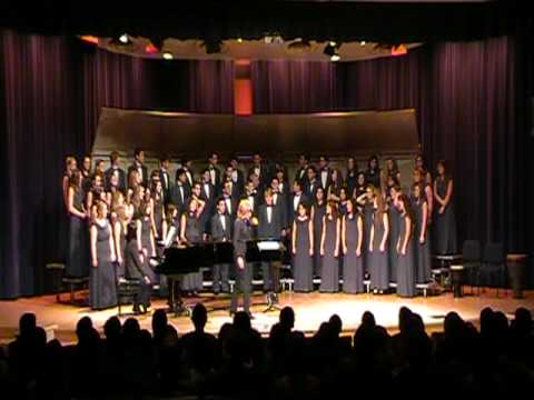 My Soul's Been Anchored - Hillcrest Christian School Conert Choir - APU 2010
