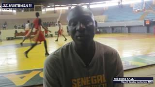 Eliminatoires Afrobasket U18 : Le coach Madiene Fall fait le point