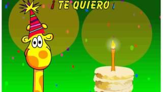 Te Quiero Mucho Feliz - Videos Animados De Feliz Cumpleaños