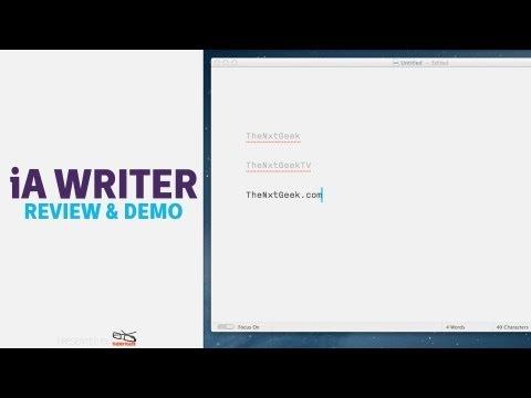 iA Writer [MAC]: Review & Demo