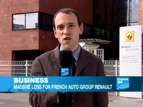 Renault suffers 2.71 billion euro first-half loss