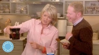 How to Prepare a Thanksgiving Gravy with Jesse Tyler Ferguson- Martha Stewart
