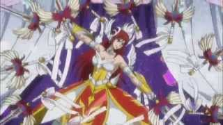 Fairy Tail AMV - Can't Be Tamed [Erza]