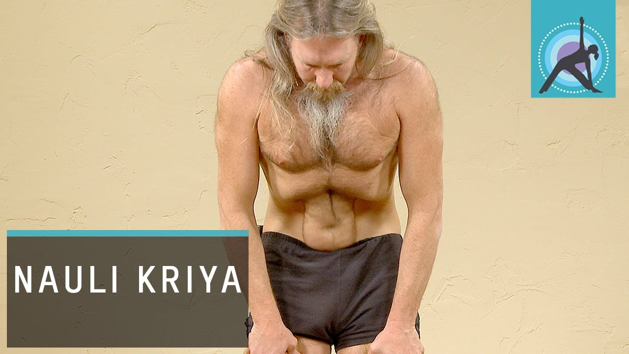 Belly rolling and nauli kriya