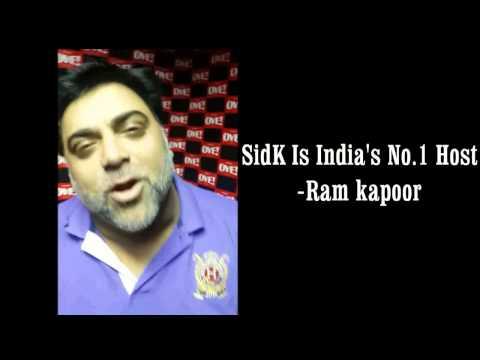 Ram Kapoor says Siddharth Kannan is India