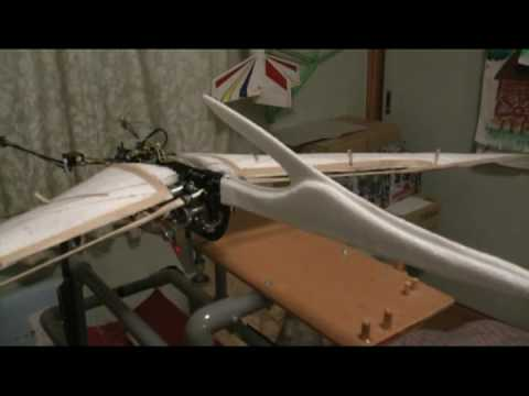 Pteranodon 9-7 framework motion test Video
