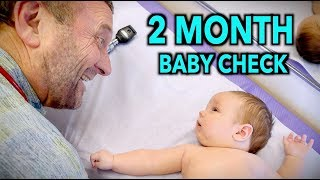 2 MONTH WELL BABY CHECK UP (2 reasons this baby is special) | Dr. Paul