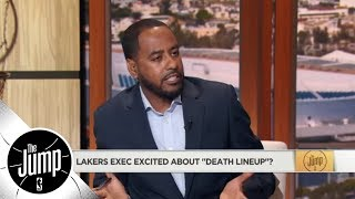 Would the Lakers' 'Death Lineup' scare the Golden State Warriors? | The Jump | ESPN