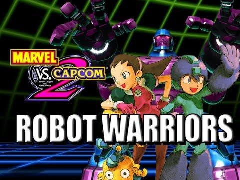 ROBOT WARRIORS: Capcom Classics (Marvel vs Capcom 2)