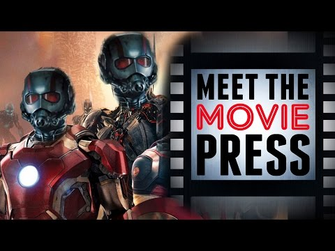 Ant-Man in Avengers? Spiderman Casting News & Tomb Raider! - June 12th, 2015 - Meet the Movie Press