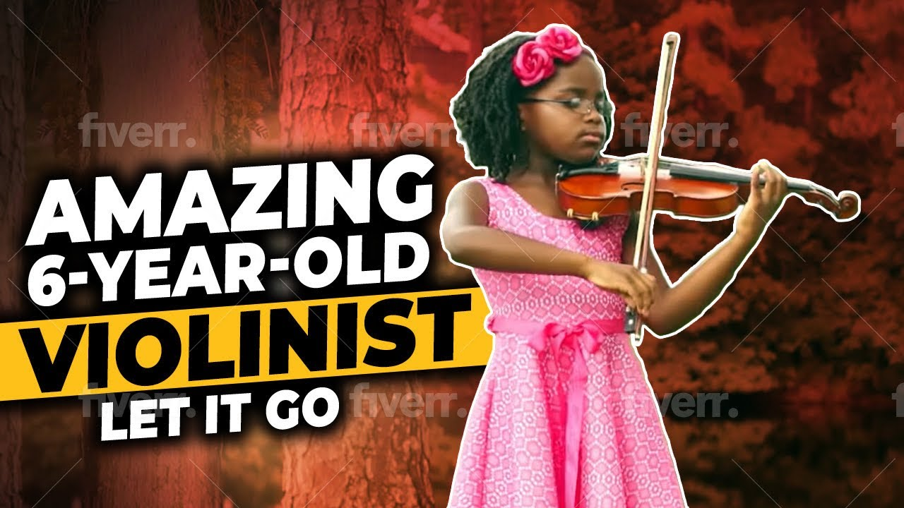 """Amazing 6-Year-Old Violinist Plays """"Let It Go"""" From Disney ..."""