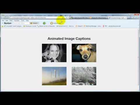jQuery Animated Image Captions