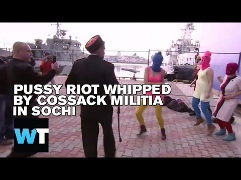 Pussy Riot Whipped While Performing in Sochi | What's Trending Now