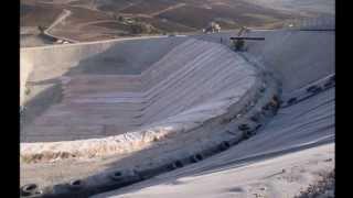 Impermeabilizzazione Discarica di Camastra (AG)